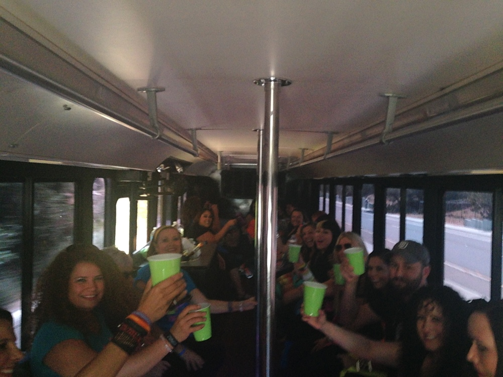 Party Fitness Limo Bus Pre Party
