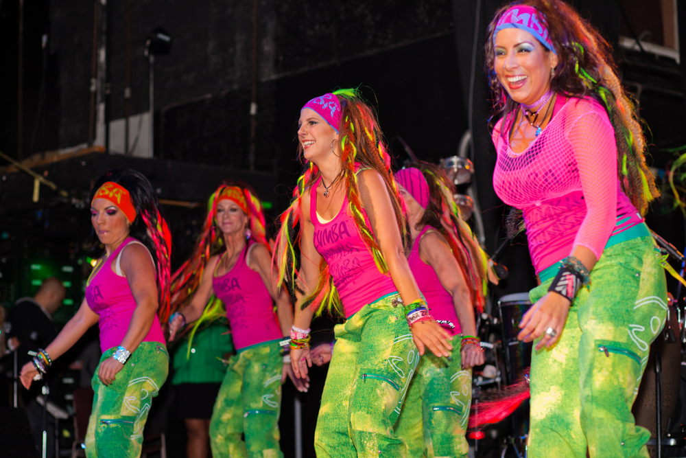 Party Fitness Performance at Brasilian Carnaval