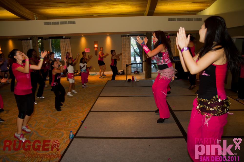 Party Fitness at a Zumbathon Shelter Island