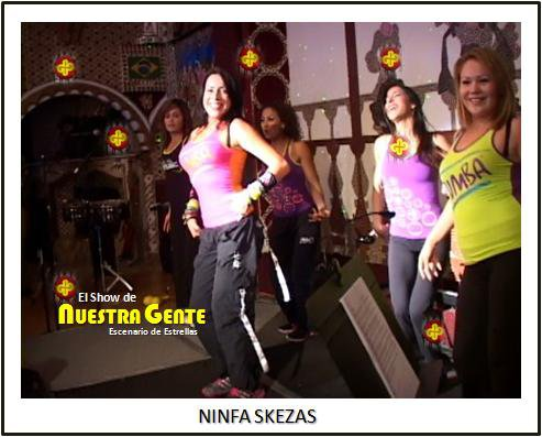 Party Fitness at El Show De Nuestra Gente