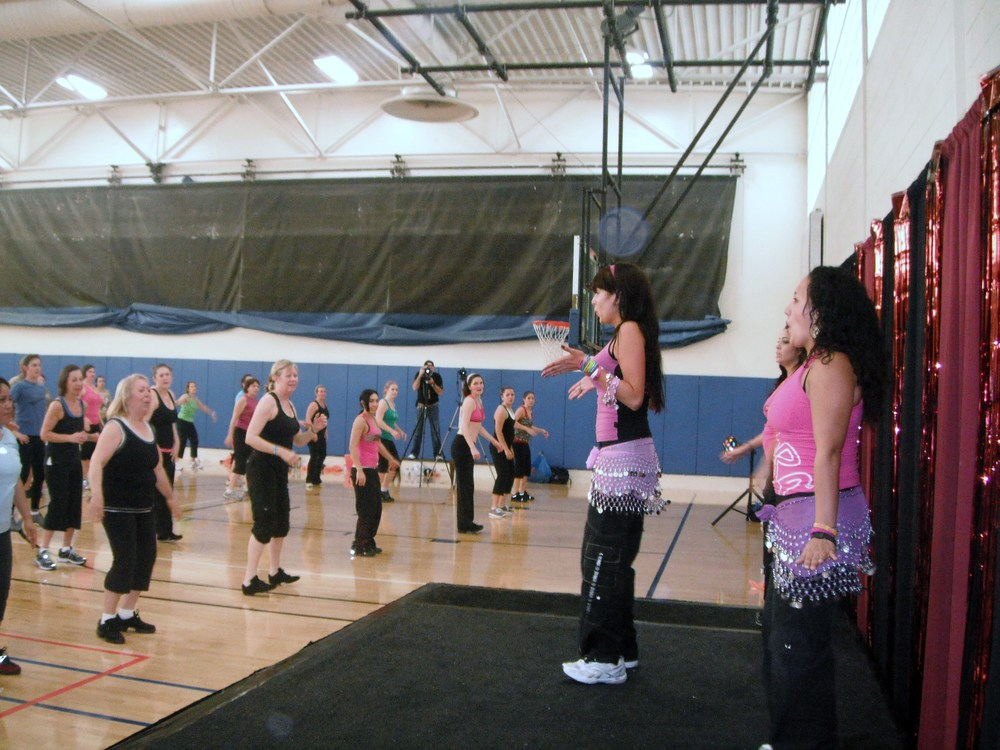 Party Fitness at The YMCA Zumbathon
