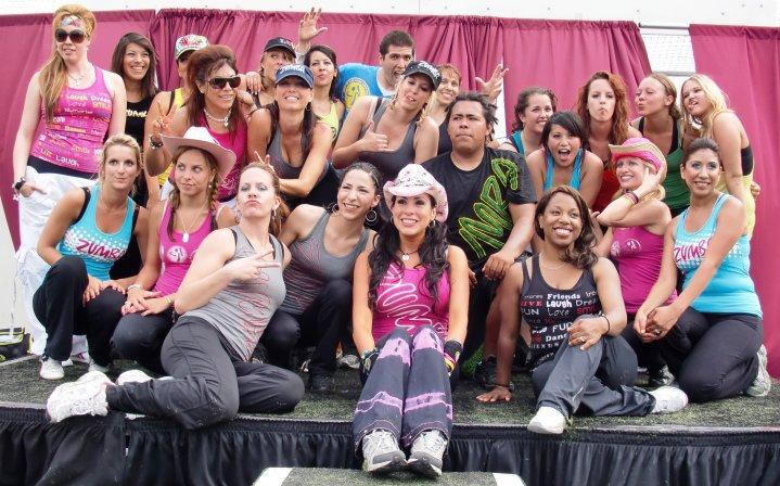 1st YMCA Zumbathon organized by Ninfa Skezas