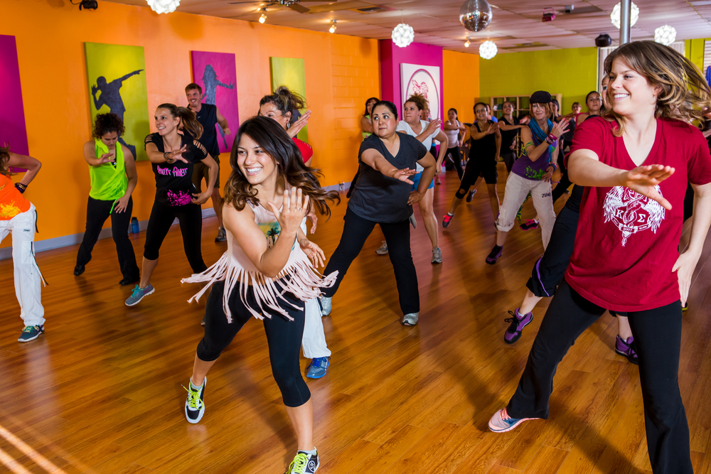 Zumba Class at Party Fitness San Diego