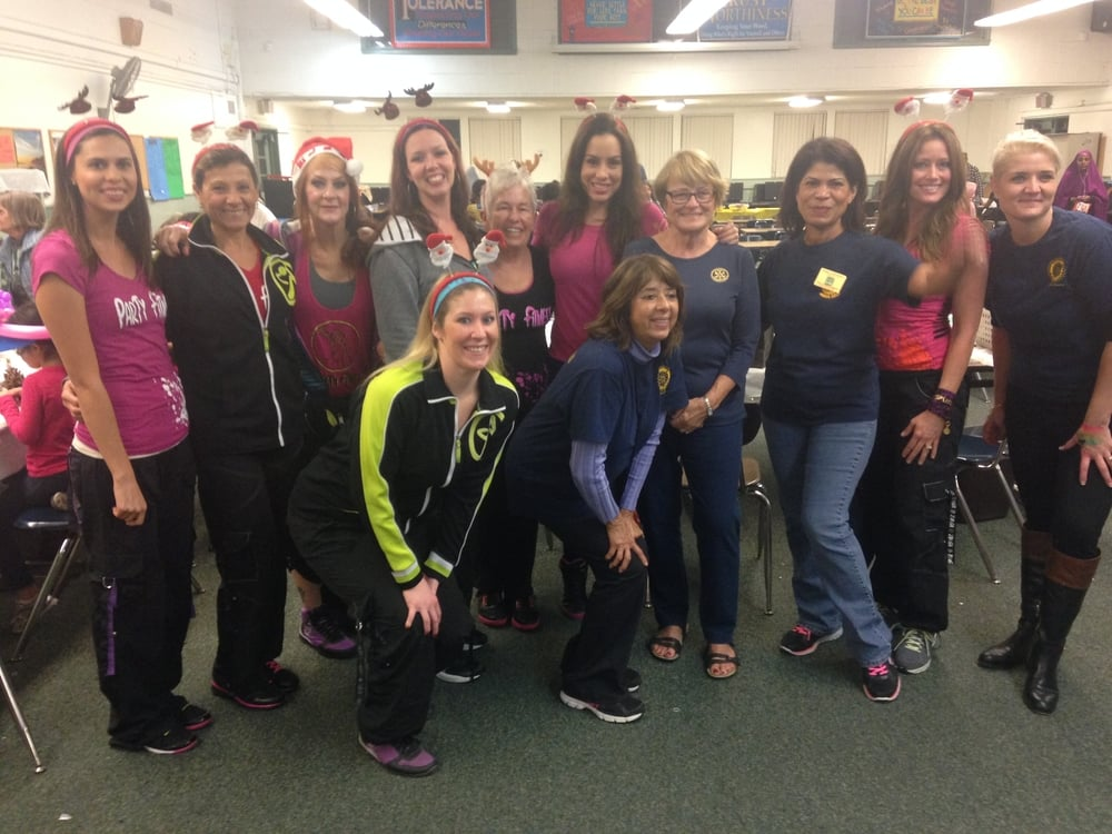 Party Fitness at Rotary Club Foundraiser