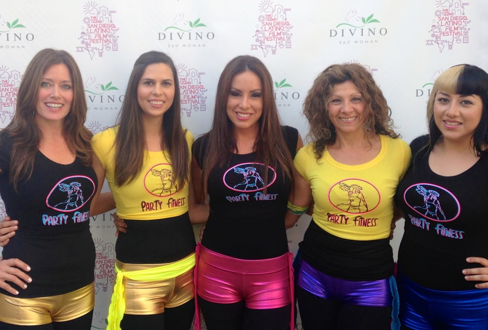 Party Fitness at San Diego Latino Festival (Fashion Valley Mall)