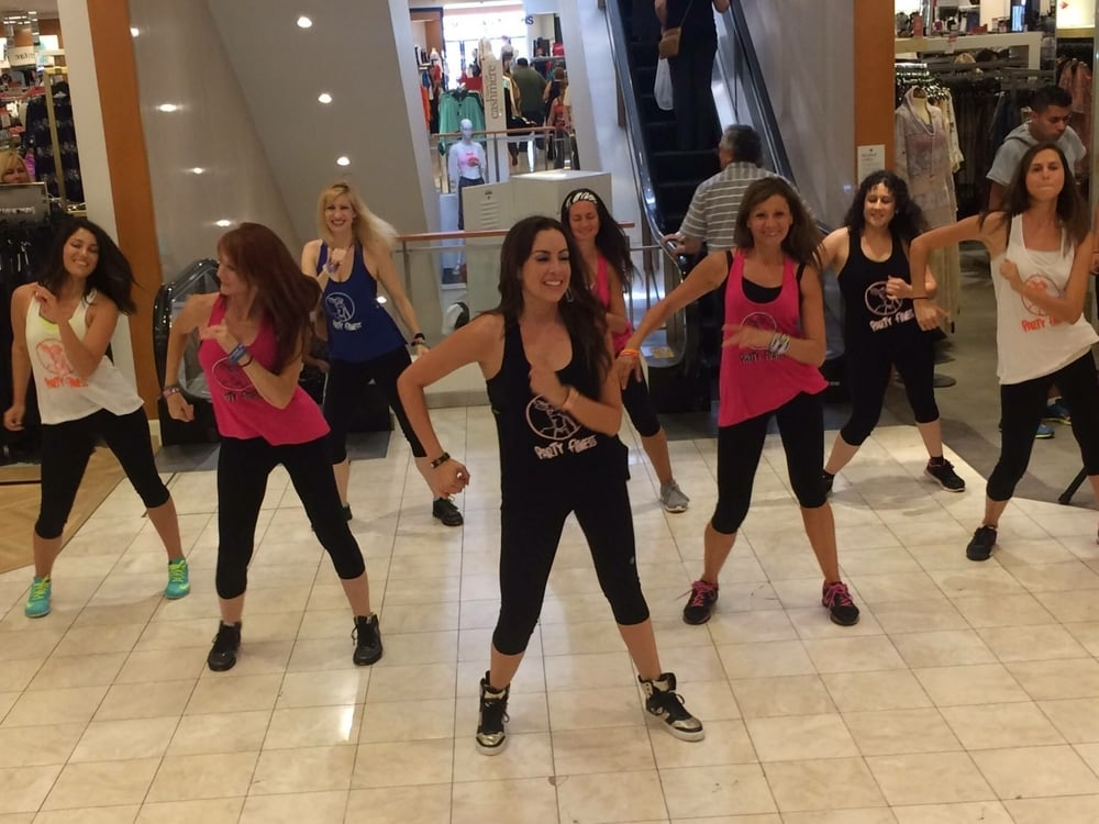 Party Fitness Zumba at Mission Valley Macy's