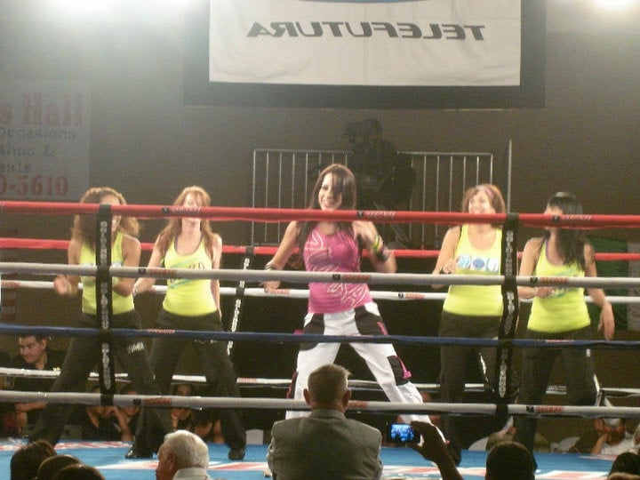 Party Fitness at Boxing Event with Telefutura