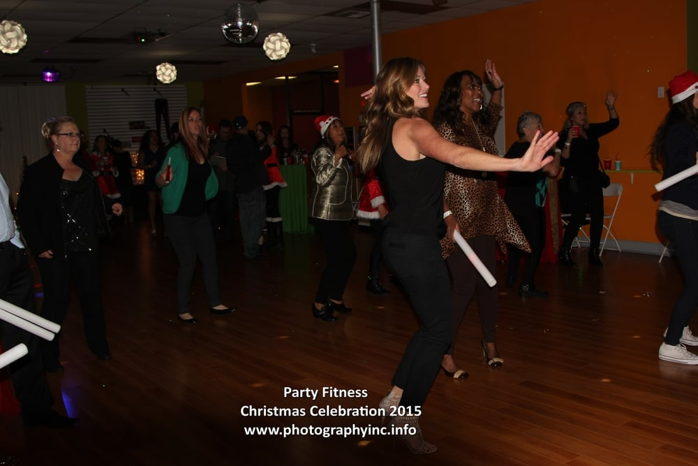 Party Fitness Christmass Party 2015