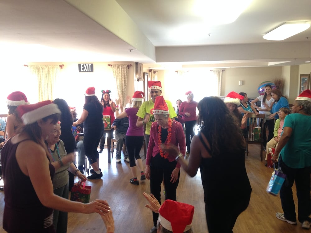 Party Fitness at Plaza Village Assistant Living