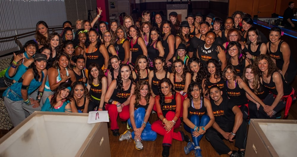 Party Fitness Fiesta Caliente at Cafe Sevilla Nightclub