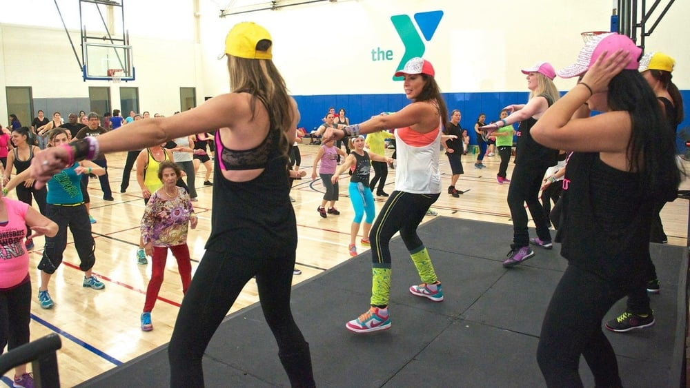 Party Fitness at YMCA Zumbathon Foundraiser