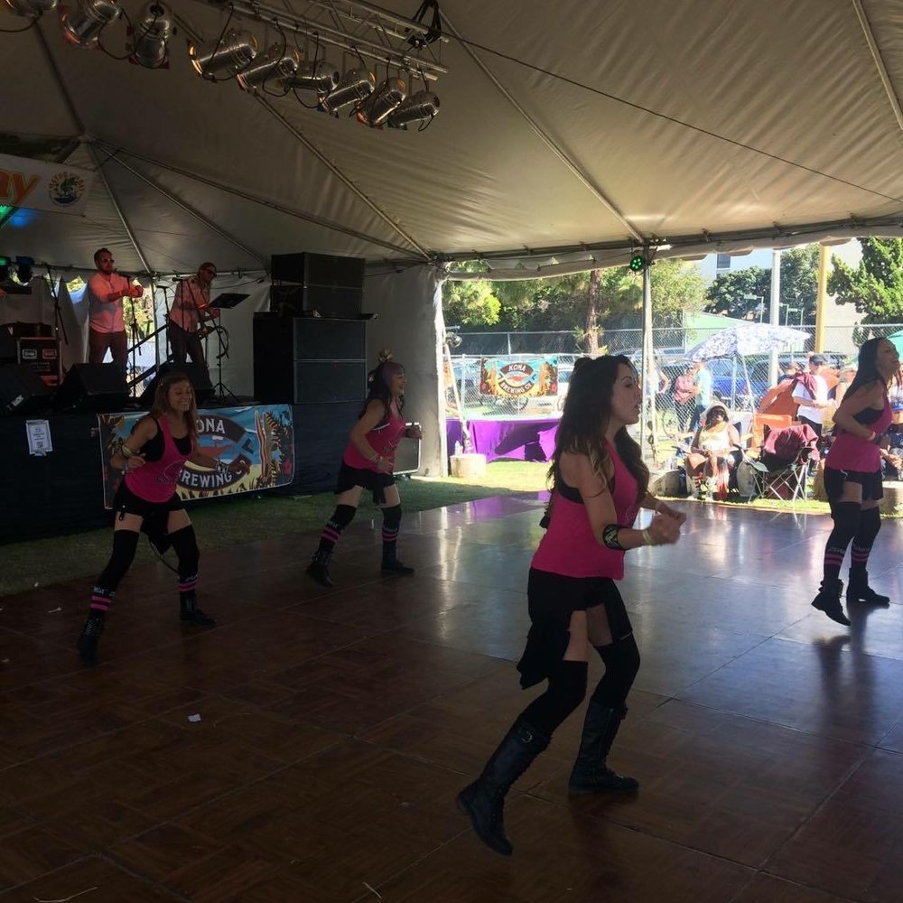 Party Fitness at Gator By The Bay 2016!