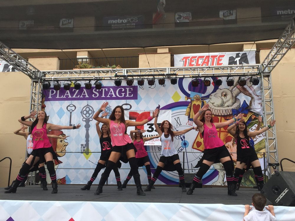 Party Fitness Performing at The Del Mar Fair 2016!