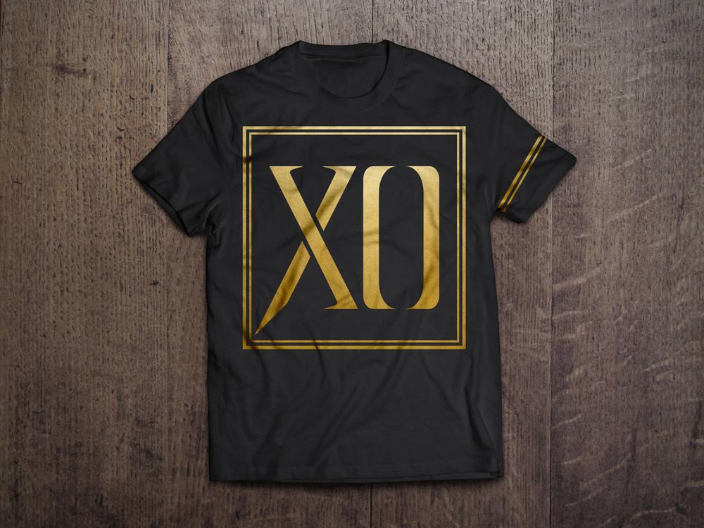 XO Stereo Gold Foil Shirt
