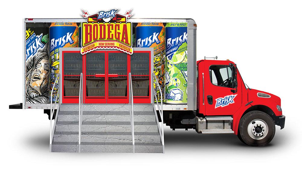 Truck Wrap Concept