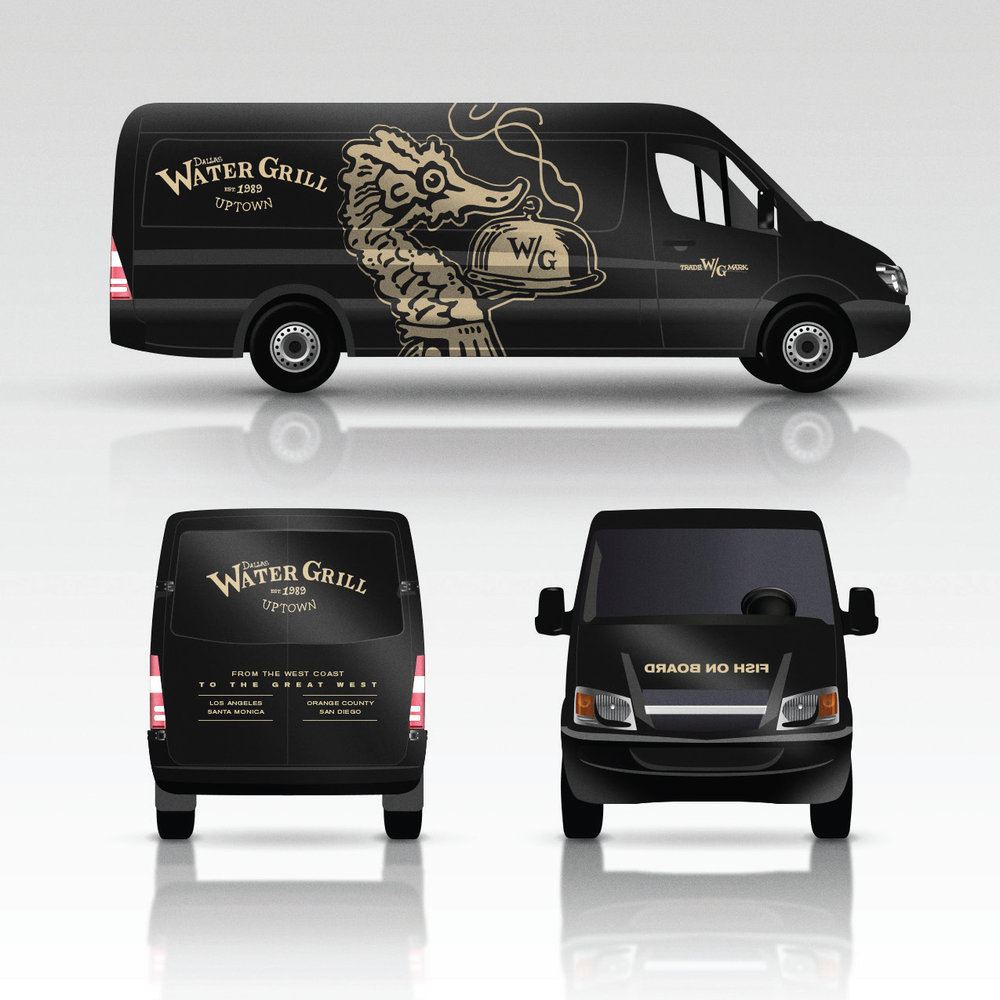 Water Grill Truck Wrap