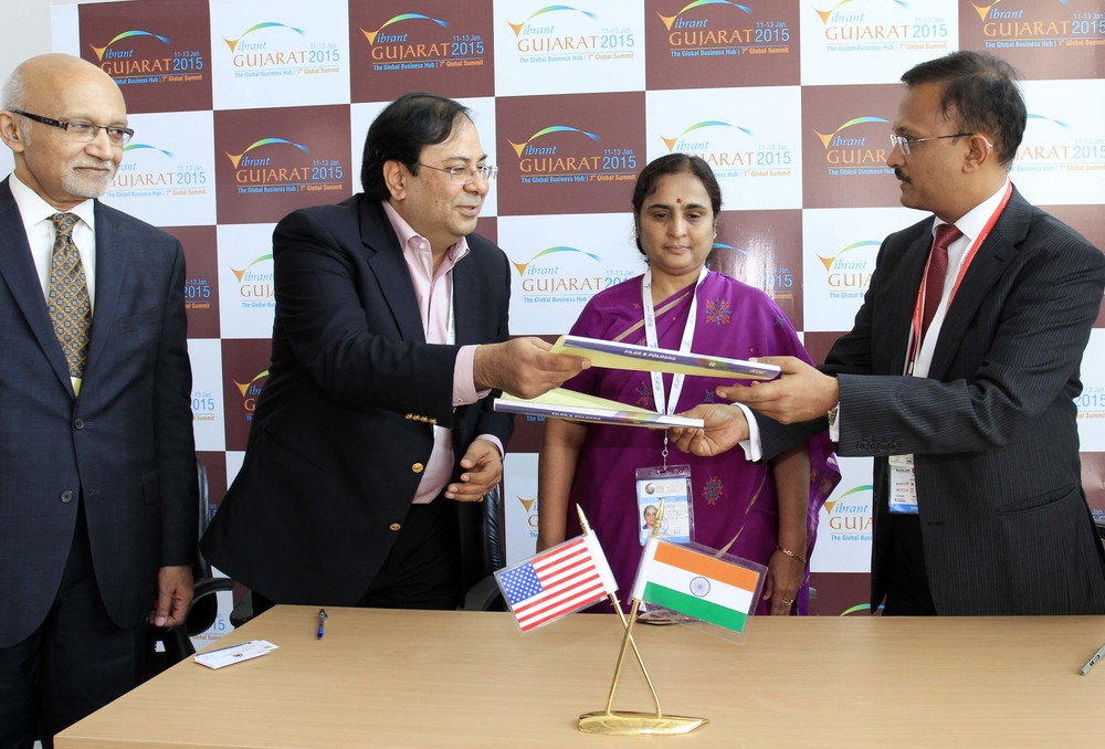 In Photos (Right ot Left): Mr. Gaurav Gupta, Commissioner for Industrial Development, Govt. of Karnataka, Ms. Ratna Prabha, Additional Chief Secretary, Commerce and Industries, Govt. of Karnataka, Mr. Suresh Nichani, Vice Chairman, RootCorp, and Mr. Arun Kumar, United States Assistant Secretary of Commerce for Global Markets.