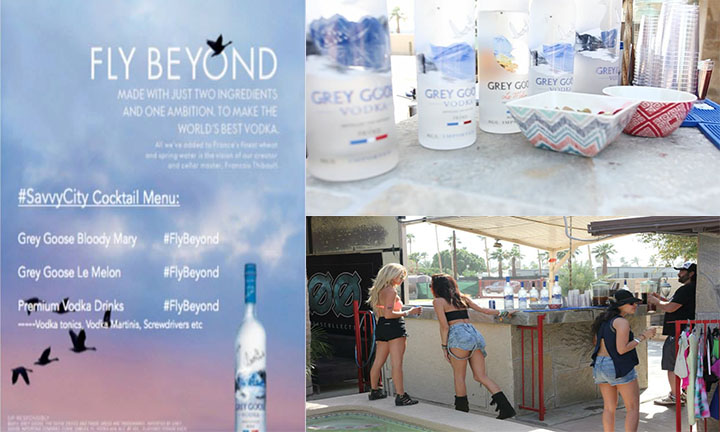 GREY GOOSE Fly Beyond Campaign