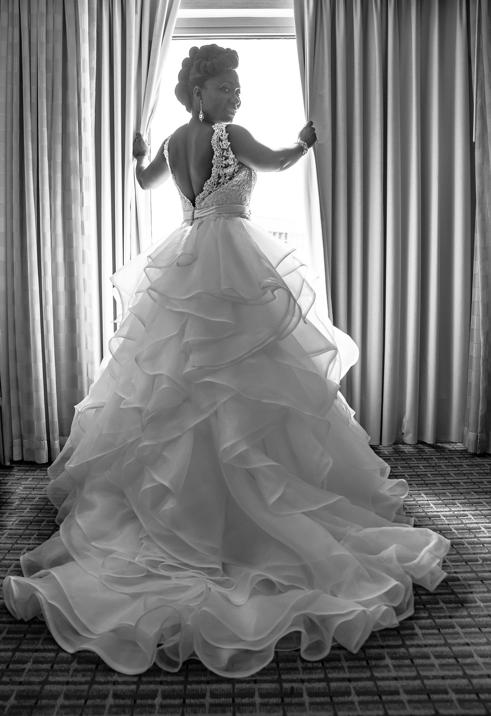 Timeless wedding dress