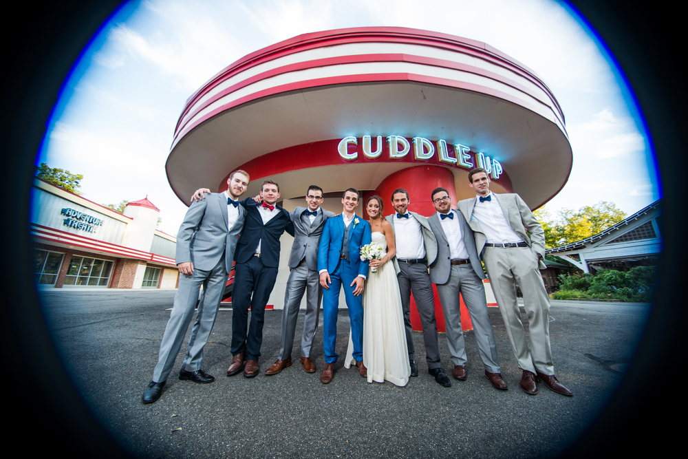 Glen Echo Park Wedding