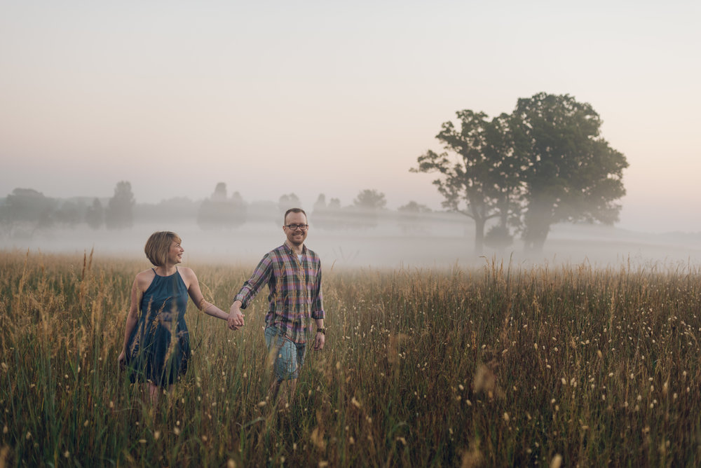 Manassas Battlefield engagement photos with dogs