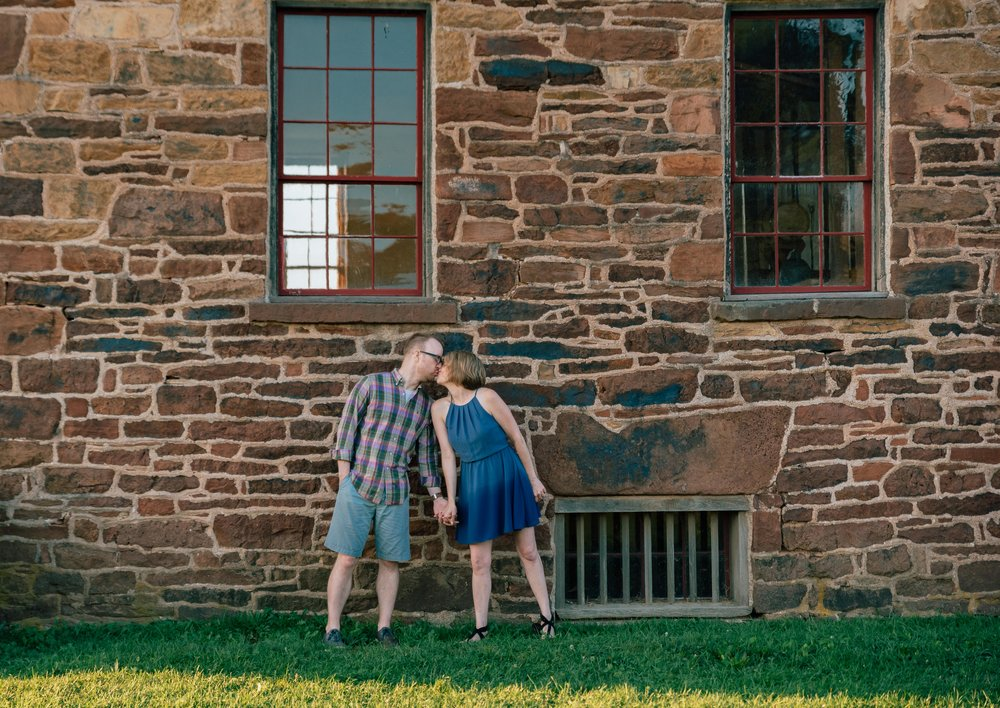Manassas Battlefield engagement photos by the Stonehouse