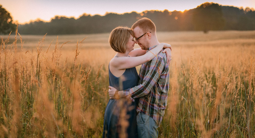 Manassas Battlefield engagement session