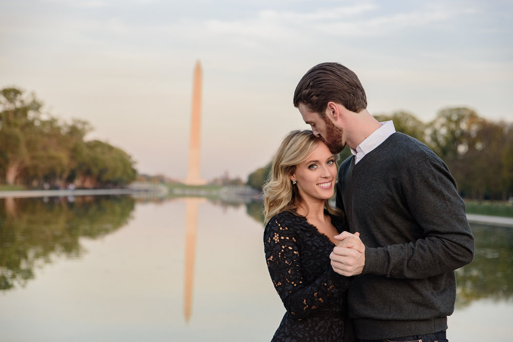 Engagement photos - Monuments Washington DC