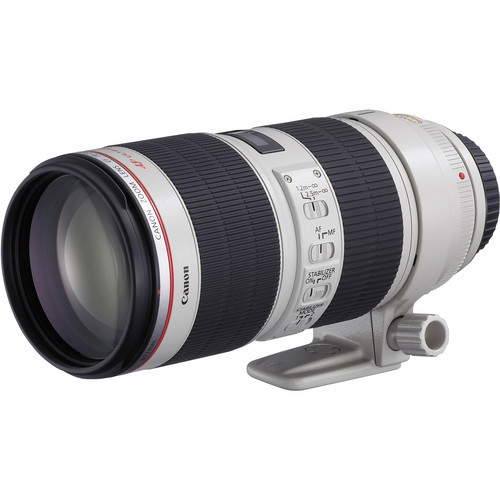 Canon 70-200mm f2.8 IS II CANON 70-200 F2.8 IS II IS A RAZOR SHARP ZOOM LENS THAT IS IN EVERY PROFESSIONAL CANON PHOTOGRAPHERS BAG EF Mount L-Series Lens Aperture Range: f/2.8-32 Fluorite & Ultra-Low Dispersion Elements Two Mode Optical Image Stabilization Ultrasonic Focus Motor Super Spectra Multi Coating Manual Focus Override Minimum Focus Distance: 3.9' Eight Blade Circular Aperture Dust & Moisture Resistant Sealing BUY HERE