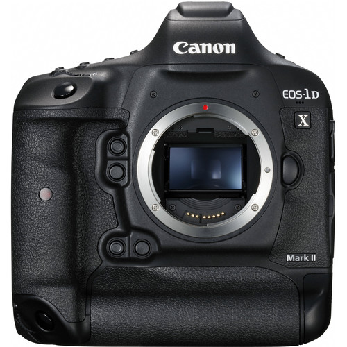 """Canon 1D X Mark II EOS DSLR Camera  20.2MP Full-Frame CMOS Sensor Dual DIGIC 6+ Image Processors 3.2"""" 1.62m-Dot Touchscreen LCD Monitor DCI 4K Video at 60 fps, 8.8MP Still Grab 61-Point High Density Reticular AF II Native ISO 51200, Expanded to ISO 409600 14 fps Shooting, 16 fps in Live View Dual Pixel CMOS AF and Movie Servo AF Built-In GPS, CFast & CF Card Slots BUY HERE"""