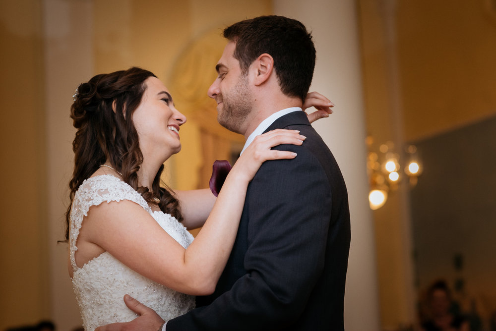 McLean Gardens Ballroom Wedding- First dance photos