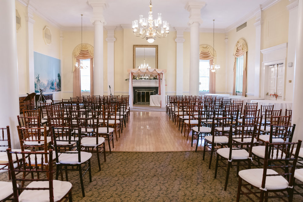 McLean Gardens Ballroom Wedding Ceremony Photos