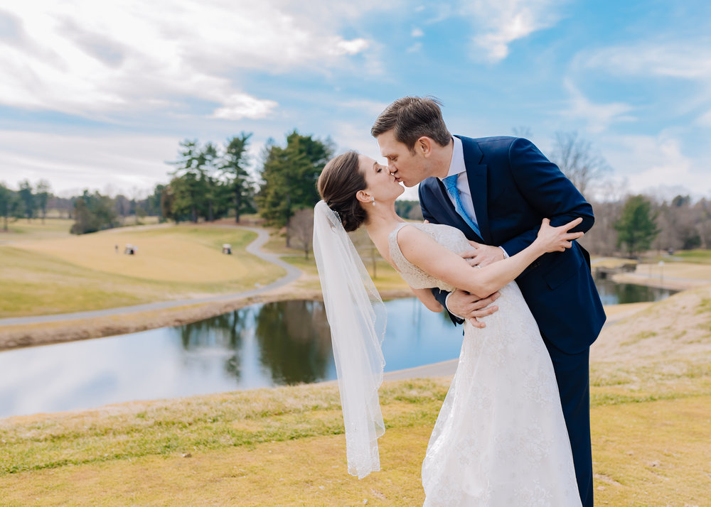 Congressional Country Club wedding photos