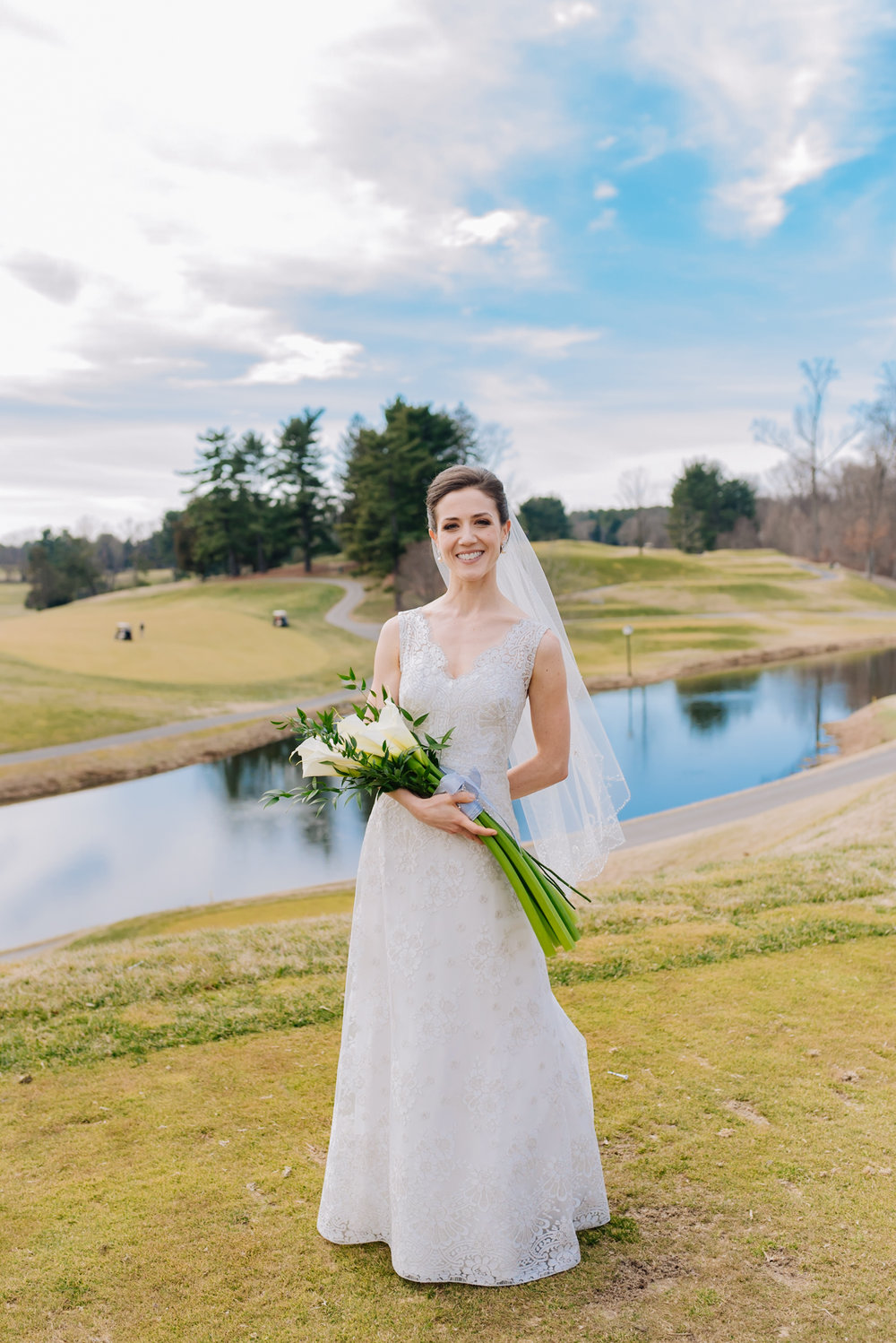 Congressional Country Club wedding - Winter wedding