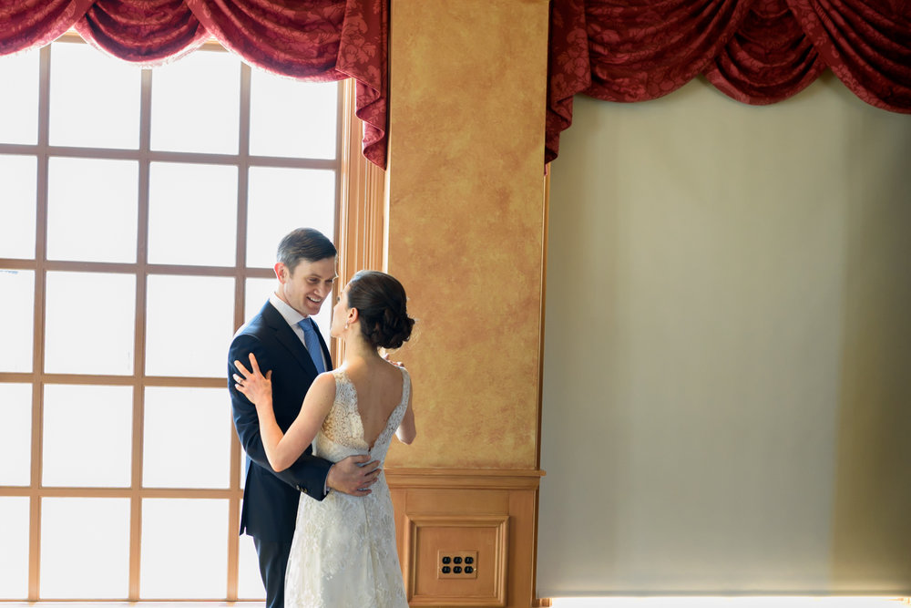 Congressional Country Club wedding - first dance