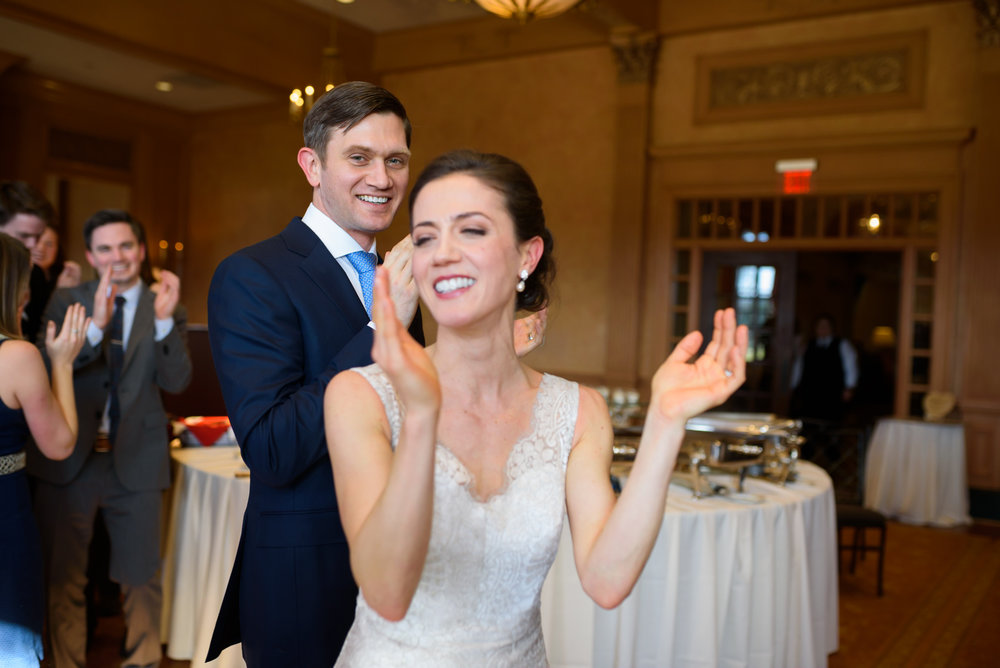 Congressional Country Club wedding dance photos