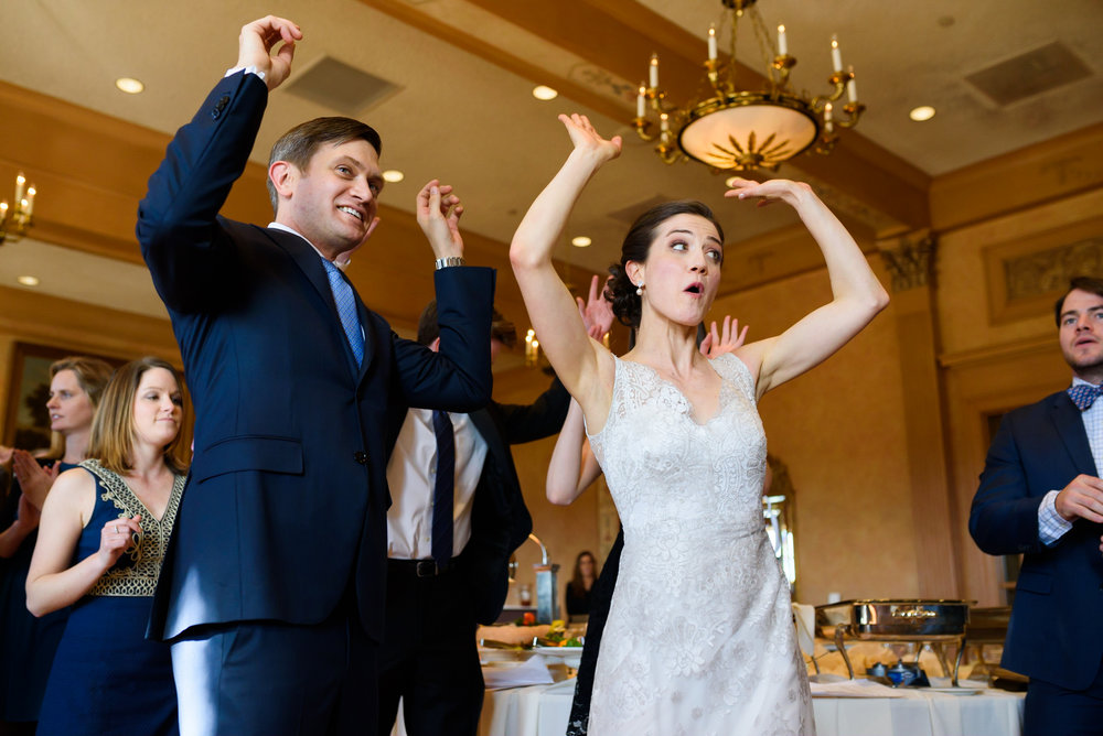 Congressional Country Club wedding - reception