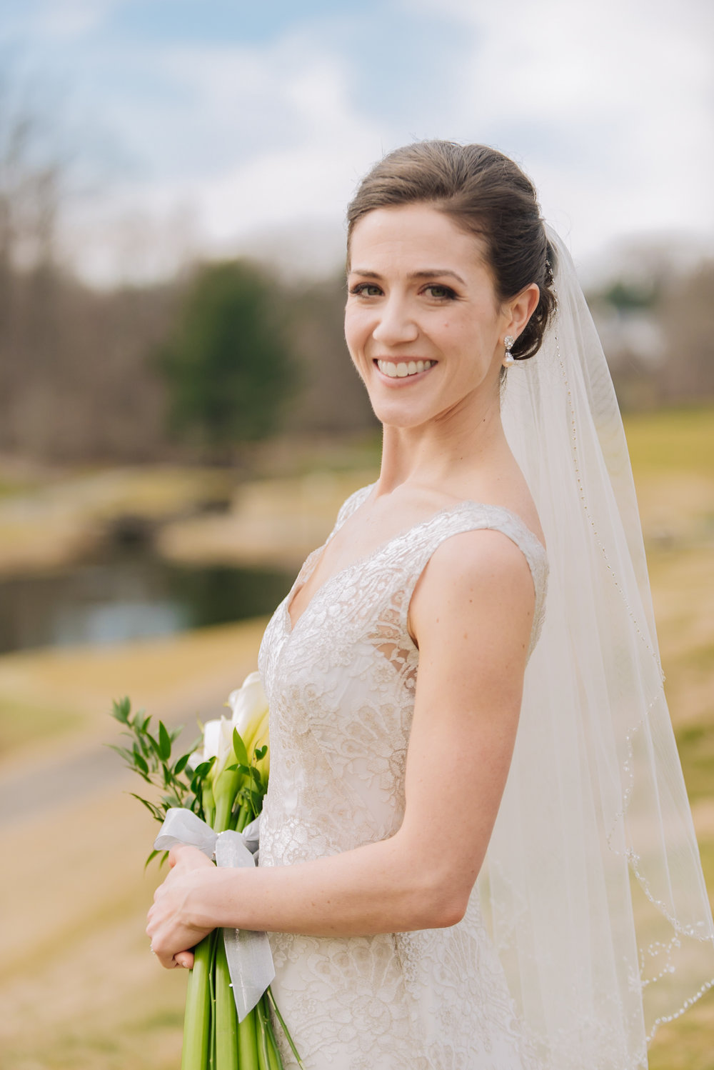 Congressional Country Club wedding - Bride