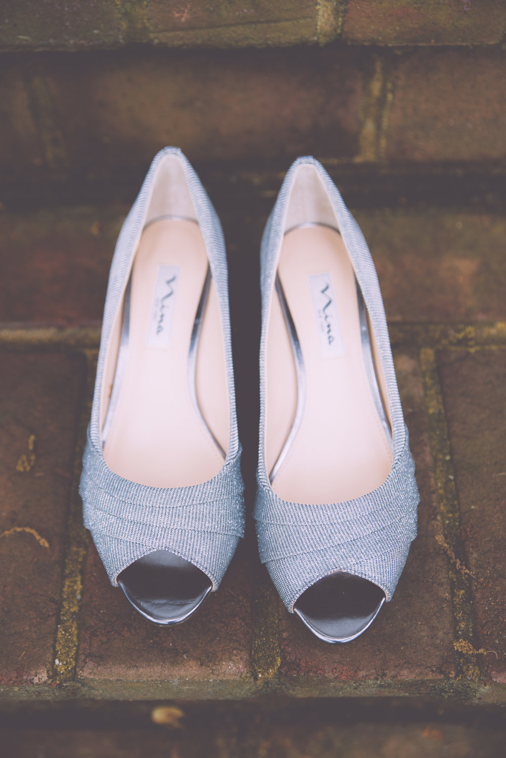 Brides Shoes Virginia Wedding