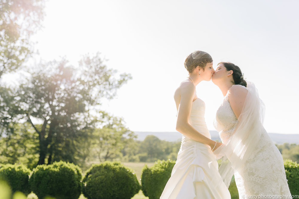 Silverbrook Farm Wedding Photos - Washington DC Wedding Photographer - Same sex couple wedding