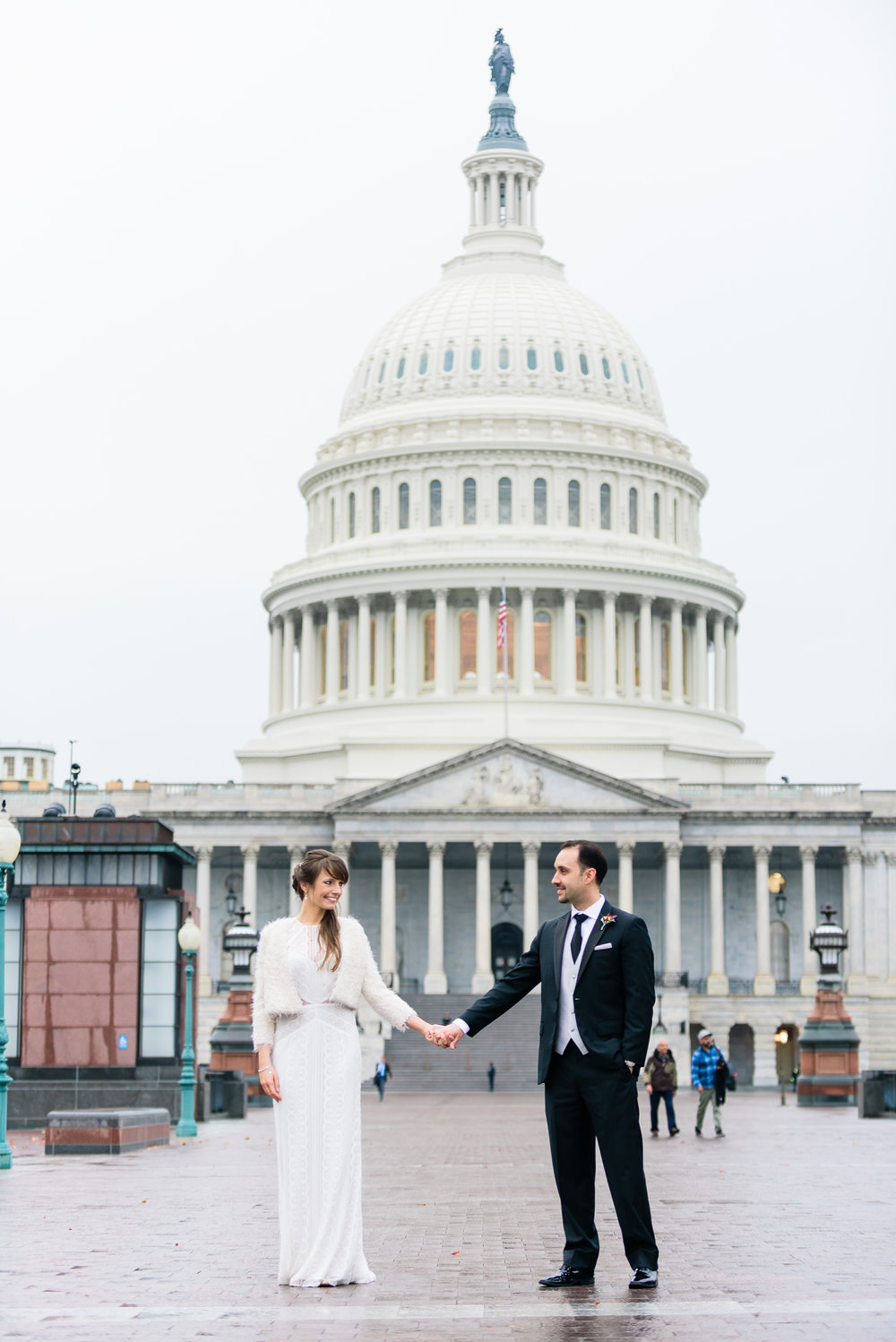 Capitol Hill Building DC wedding photos