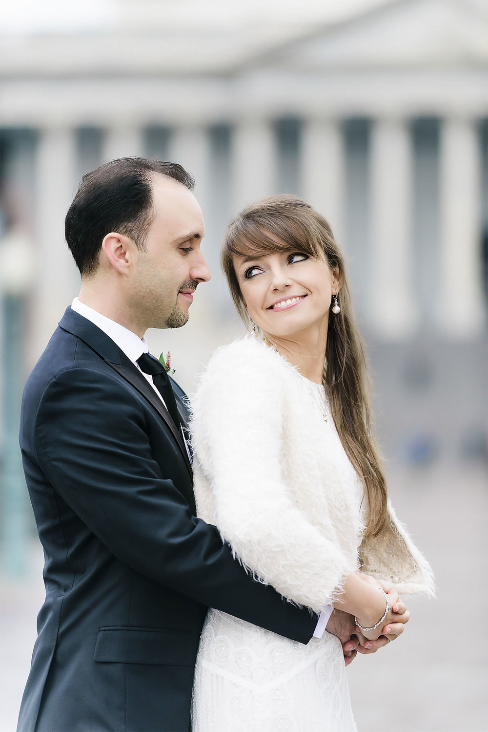 Capitol Hill Building wedding DC