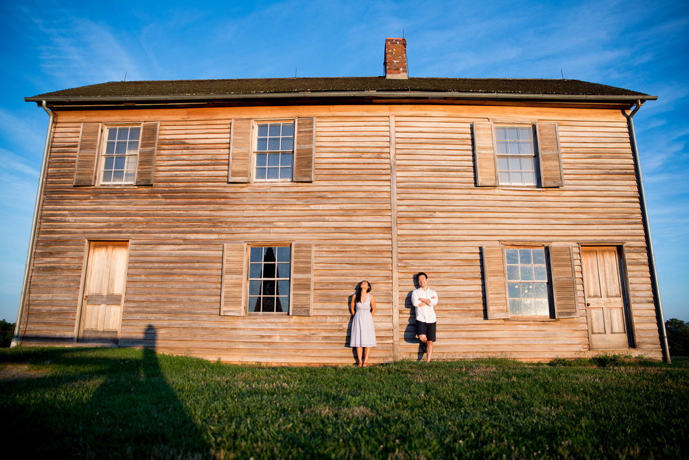 Manassas Battlefield engagement photo