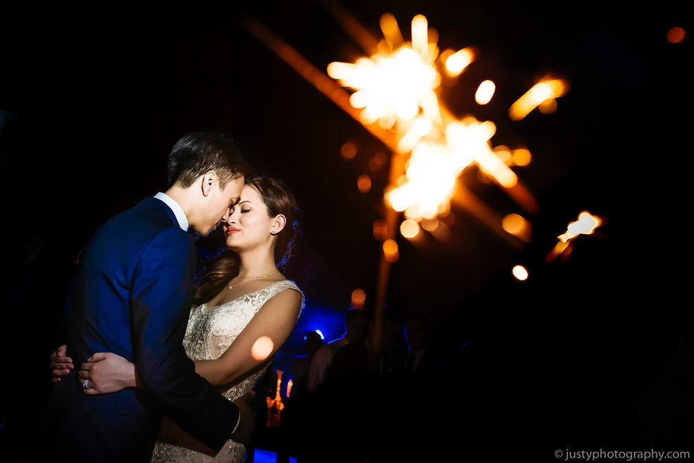 Beacon Hill Manor Wedding Photos Sparklers - Reception--2.jpg