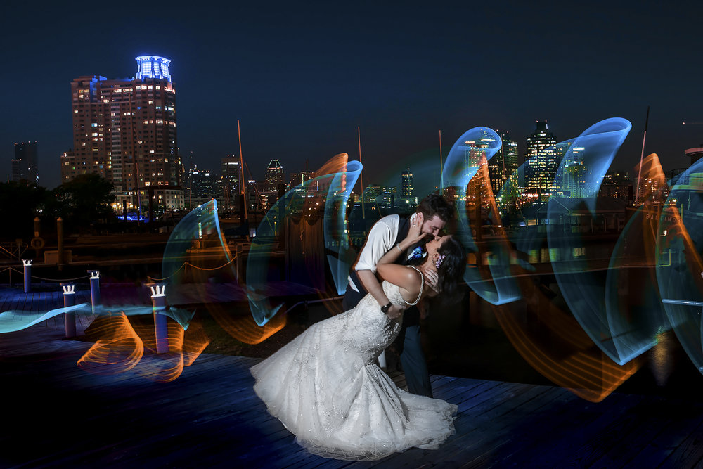 Baltimore+Museum+of+Industry+Wedding+Photos+-+Light+Painting+bride+and+groom+(1+of+1)+copy.jpg