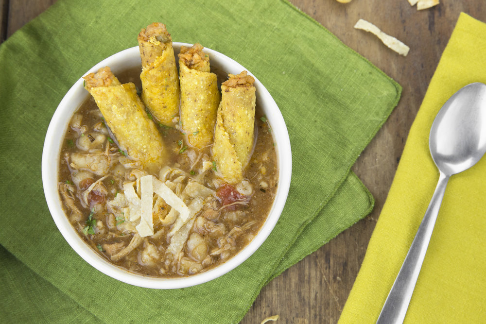 Chicken Taquitos: Taco Western Soup