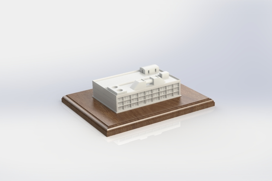 Architectural Model Architectural Model Presented as a Customized Award