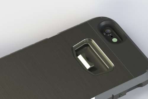 iPhone Case with Bottle Opener
