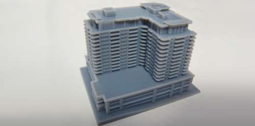 Polyjet 3D Printing - Architectural Model