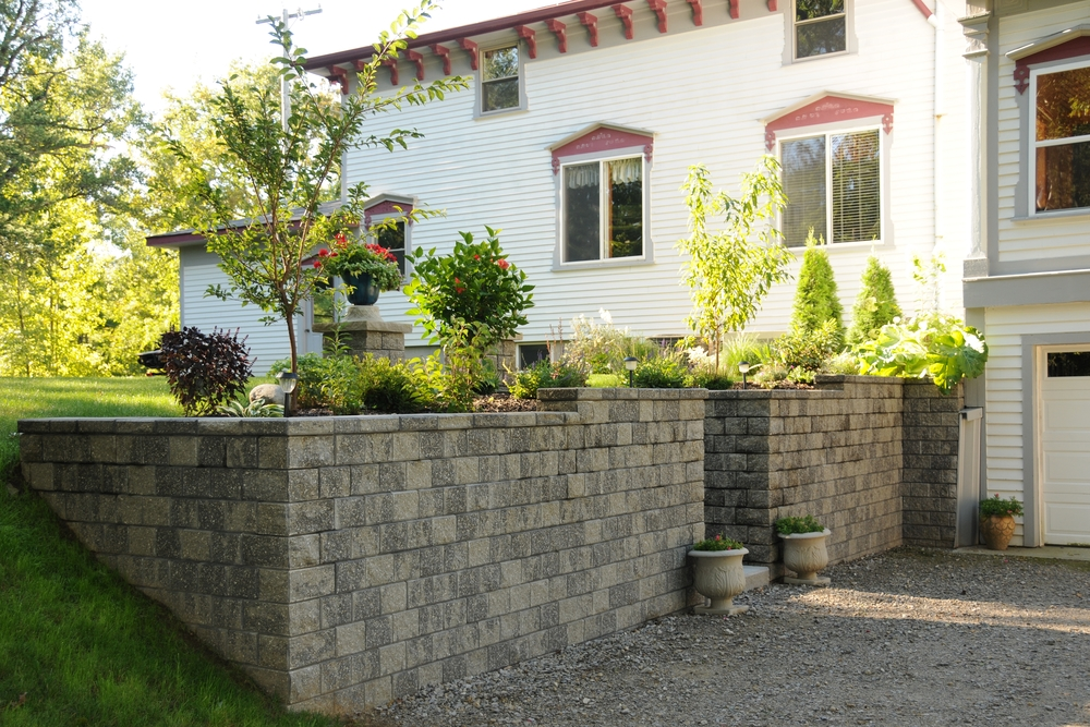 Traditional Retaining Wall